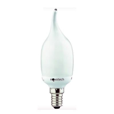Novotech 321047 Лампа энергосберегающаяВ виде свечи<br>В интернет-магазине «Светодом» можно купить не только люстры и светильники, но и лампочки. В нашем каталоге представлены светодиодные, галогенные, энергосберегающие модели и лампы накаливания. В ассортименте имеются изделия разной мощности, поэтому у нас Вы сможете приобрести все необходимое для освещения.   Лампа Novotech 321047 обеспечит отличное качество освещения. При покупке ознакомьтесь с параметрами в разделе «Характеристики», чтобы не ошибиться в выборе. Там же указано, для каких осветительных приборов Вы можете использовать лампу Novotech 321047Novotech 321047.   Для оформления покупки воспользуйтесь «Корзиной». При наличии вопросов Вы можете позвонить нашим менеджерам по одному из контактных номеров. Мы доставляем заказы в Москву, Екатеринбург и другие города России.<br><br>Цветовая t, К: CW - холодный белый 4000 К<br>Тип лампы: LED - светодиодная<br>Тип цоколя: E14<br>MAX мощность ламп, Вт: 11<br>Диаметр, мм мм: 38<br>Длина, мм: 127