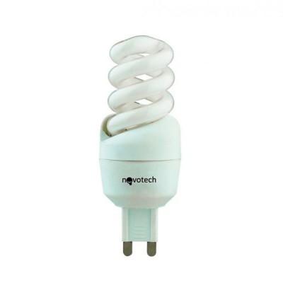 Novotech 321071 Лампа энергосберегающаяСпиральные<br>В интернет-магазине «Светодом» можно купить не только люстры и светильники, но и лампочки. В нашем каталоге представлены светодиодные, галогенные, энергосберегающие модели и лампы накаливания. В ассортименте имеются изделия разной мощности, поэтому у нас Вы сможете приобрести все необходимое для освещения.   Лампа Novotech 321071 обеспечит отличное качество освещения. При покупке ознакомьтесь с параметрами в разделе «Характеристики», чтобы не ошибиться в выборе. Там же указано, для каких осветительных приборов Вы можете использовать лампу Novotech 321071Novotech 321071.   Для оформления покупки воспользуйтесь «Корзиной». При наличии вопросов Вы можете позвонить нашим менеджерам по одному из контактных номеров. Мы доставляем заказы в Москву, Екатеринбург и другие города России.<br><br>Цветовая t, К: CW - холодный белый 4000 К<br>Тип лампы: Энергосберегающая<br>Тип цоколя: G9<br>MAX мощность ламп, Вт: 9<br>Диаметр, мм мм: 31<br>Высота, мм: 82
