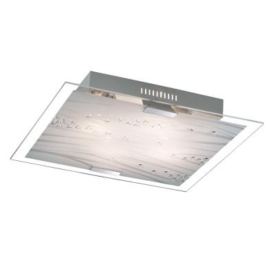 Светильник светодиодный Сонекс 3227/EL KADIA 72Втквадратные светильники<br><br><br>S освещ. до, м2: 36<br>Цветовая t, К: 3200/4200//6200<br>Тип лампы: LED - светодиодная<br>Ширина, мм: 500<br>Длина, мм: 500<br>Расстояние от стены, мм: 80<br>Оттенок (цвет): белый<br>MAX мощность ламп, Вт: 72