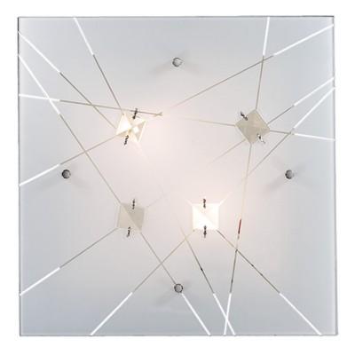 Светильник светодиодный Сонекс 3235/DL OPELI 48ВтКвадратные<br><br><br>S освещ. до, м2: 24<br>Тип лампы: LED - светодиодная<br>Тип цоколя: LED<br>Ширина, мм: 500<br>Длина, мм: 500<br>Высота, мм: 90<br>Оттенок (цвет): белый<br>MAX мощность ламп, Вт: 48