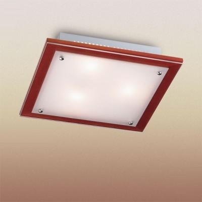 Светильник Сонекс 3242 хром FerolaКвадратные<br>Настенно потолочный светильник Сонекс (Sonex) 3242 подходит как для установки в вертикальном положении - на стены, так и для установки в горизонтальном - на потолок. Для установки настенно потолочных светильников на натяжной потолок необходимо использовать светодиодные лампы LED, которые экономнее ламп Ильича (накаливания) в 10 раз, выделяют мало тепла и не дадут расплавиться Вашему потолку.<br><br>S освещ. до, м2: 12<br>Тип лампы: накаливания / энергосбережения / LED-светодиодная<br>Тип цоколя: E27<br>Количество ламп: 3<br>Ширина, мм: 360<br>MAX мощность ламп, Вт: 60<br>Расстояние от стены, мм: 65<br>Высота, мм: 360<br>Цвет арматуры: серебристый