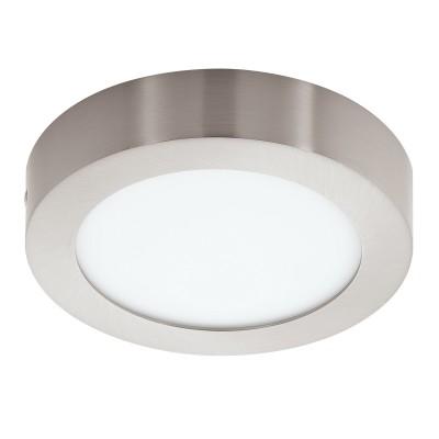 Eglo FUEVA 1 32441 Встраиваемый светильникКруглые LED<br>Светодиодная ультратонкая встраиваемая панель FUEVA 1, 10,9W (LED) 4000K, ?170, никель применяется преимущественно в домашнем освещении с использованием стандартных выключателей и переключателей для сетей 220V.<br><br>Цветовая t, К: 4000<br>Тип лампы: LED - светодиодная<br>Тип цоколя: LED<br>Количество ламп: 1<br>MAX мощность ламп, Вт: 12<br>Диаметр, мм мм: 170<br>Высота, мм: 35<br>Цвет арматуры: серебристый