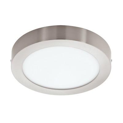 Eglo FUEVA 1 32443 Встраиваемый светильникКруглые<br>Светодиодная ультратонкая встраиваемая панель FUEVA 1, 24W (LED) 4000K, ?300, никель применяется преимущественно в домашнем освещении с использованием стандартных выключателей и переключателей для сетей 220V.<br><br>Цветовая t, К: 4000<br>Тип лампы: LED - светодиодная<br>Тип цоколя: LED<br>Цвет арматуры: никель матовый<br>Количество ламп: 1<br>Диаметр, мм мм: 300<br>Высота, мм: 40<br>MAX мощность ламп, Вт: 24