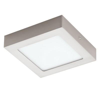 Eglo FUEVA 1 32444 Встраиваемый светильникКвадратные LED<br>Светодиодная ультратонкая встраиваемая панель FUEVA 1, 10,9W (LED) 4000K, 170х170, никель применяется преимущественно в домашнем освещении с использованием стандартных выключателей и переключателей для сетей 220V.<br><br>Цветовая t, К: 4000<br>Тип лампы: LED - светодиодная<br>Тип цоколя: LED<br>Цвет арматуры: серебристый<br>Количество ламп: 1<br>Ширина, мм: 170<br>Длина, мм: 170<br>Высота, мм: 35<br>MAX мощность ламп, Вт: 12