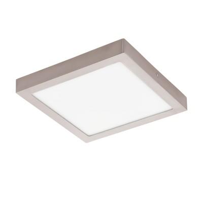 Eglo FUEVA 1 32446 Встраиваемый светильникКвадратные<br>Светодиодная ультратонкая встраиваемая панель FUEVA 1, 22W (LED) 4000K, 300х300, никель применяется преимущественно в домашнем освещении с использованием стандартных выключателей и переключателей для сетей 220V.<br><br>Цветовая t, К: 4000<br>Тип лампы: LED - светодиодная<br>Тип цоколя: LED<br>Цвет арматуры: никель матовый<br>Количество ламп: 1<br>Ширина, мм: 300<br>Длина, мм: 300<br>Высота, мм: 40<br>MAX мощность ламп, Вт: 24