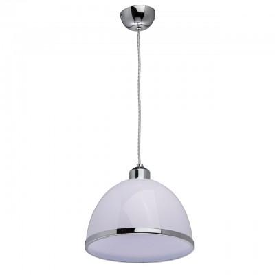 Светильник Mw-light 325014301Одиночные<br>325014301 - это Простота, стиль, качество – три причины влюбиться в люстру из коллекции «Омега». Хромированное металлическое основание дополняет акриловый абажур. Его строгая форма и белый цвет создают гармоничный тандем, а металлический ободок в тон основанию придает композиции завершенность.<br><br>S освещ. до, м2: 2<br>Тип лампы: накаливания / энергосбережения / LED-светодиодная<br>Тип цоколя: E27<br>Количество ламп: 1<br>Диаметр, мм мм: 230<br>Длина цепи/провода, мм: 1050<br>Высота, мм: 1300<br>MAX мощность ламп, Вт: 40