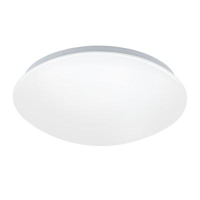 32589 Eglo - Светодиодный настенно-потолочный светильник GIRON-C EGLO connectКруглые<br><br><br>S освещ. до, м2: 7<br>Тип лампы: LED - светодиодная<br>Диаметр, мм мм: 300<br>Высота, мм: 90<br>MAX мощность ламп, Вт: 17