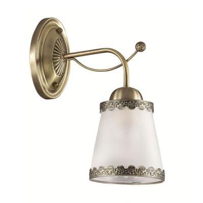 Настенный светильник бра Lumion 3266/1W ABBIКлассические<br>Бра 3266/1W серии Abbi оформлена в классическом стиле. Светильник состоит из матовых молочных плафонов из стекла с ажурным металлическим декором по краям, а также арматуры цвета бронзы. Модель идеально подойдет для кабинетов или гостинных, выполненных в морском стиле. Цоколь E27. Мощность 1х60W.  Нет ламп в комплекте.<br><br>Крепление: Настенное<br>Тип лампы: накаливания / энергосбережения / LED-светодиодная<br>Тип цоколя: E27<br>Количество ламп: 1<br>Ширина, мм: 130<br>MAX мощность ламп, Вт: 60<br>Диаметр, мм мм: 280<br>Длина, мм: 280<br>Высота, мм: 260<br>Цвет арматуры: бронзовый
