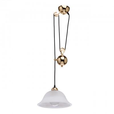 Regenbogen Ника 327010501 ЛюстраОдиночные<br><br><br>S освещ. до, м2: 3<br>Тип лампы: Накаливания / энергосбережения / светодиодная<br>Тип цоколя: E27<br>Количество ламп: 1<br>Диаметр, мм мм: 300<br>Высота, мм: 710<br>MAX мощность ламп, Вт: 60