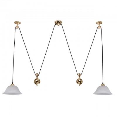 Regenbogen Ника 327010702 ЛюстраТройные<br><br><br>S освещ. до, м2: 6<br>Тип лампы: Накаливания / энергосбережения / светодиодная<br>Тип цоколя: E27<br>Количество ламп: 2<br>MAX мощность ламп, Вт: 60