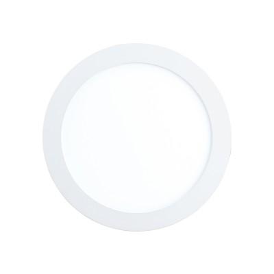 32738 Eglo - Светодиодная ультратонкая встраиваемая панель FUEVA-C системы EGLO connectКруглые<br><br><br>Тип лампы: LED - светодиодная<br>Тип цоколя: LED<br>MAX мощность ламп, Вт: 10.5<br>Диаметр, мм мм: 170<br>Глубина, мм: 30<br>Диаметр врезного отверстия, мм: 155
