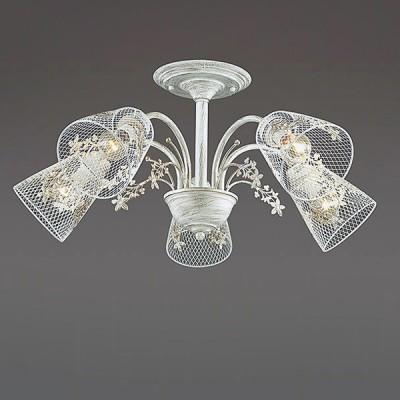 Светильник Lumion 3304/5CПотолочные<br><br><br>S освещ. до, м2: 10<br>Крепление: Потолочное<br>Тип лампы: Накаливания / энергосбережения / светодиодная<br>Тип цоколя: E14<br>Количество ламп: 5<br>MAX мощность ламп, Вт: 40<br>Диаметр, мм мм: 615<br>Высота, мм: 280