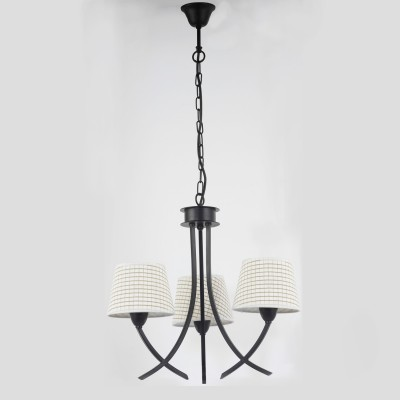 Люстра Lamplandia 3309 DariaПодвесные<br>Люстра. Традиционная модель. Имеет коричневое металлическое основание с абажуром бежево-коричневого цвета. Замечательно подходит для любых интерьеров<br><br>Установка на натяжной потолок: Да<br>S освещ. до, м2: 8<br>Крепление: Крюк<br>Тип лампы: накаливания / энергосбережения / LED-светодиодная<br>Тип цоколя: E14<br>Количество ламп: 3<br>Ширина, мм: 290<br>MAX мощность ламп, Вт: 40<br>Длина, мм: 490<br>Высота, мм: 220<br>Цвет арматуры: коричневый