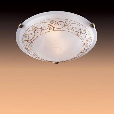 Светильник Сонекс 331 золото/бронза Barocco OroКруглые<br>Настенно потолочный светильник Сонекс (Sonex) 331  подходит как для установки в вертикальном положении - на стены, так и для установки в горизонтальном - на потолок. Для установки настенно потолочных светильников на натяжной потолок необходимо использовать светодиодные лампы LED, которые экономнее ламп Ильича (накаливания) в 10 раз, выделяют мало тепла и не дадут расплавиться Вашему потолку.<br><br>S освещ. до, м2: 20<br>Тип лампы: накаливания / энергосбережения / LED-светодиодная<br>Тип цоколя: E27<br>Количество ламп: 3<br>MAX мощность ламп, Вт: 100<br>Диаметр, мм мм: 500<br>Цвет арматуры: бронзовый