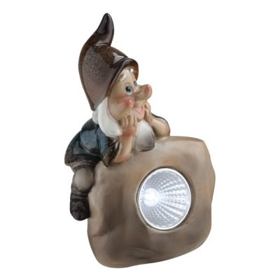 Светильник Globo 33108-12 SolarПерсонажи<br>Обеспечение качественного уличного освещения – важная задача для владельцев коттеджей. Компания «Светодом» предлагает современные светильники, которые порадуют Вас отличным исполнением. В нашем каталоге представлена продукция известных производителей, пользующихся популярностью благодаря высокому качеству выпускаемых товаров. <br> Уличный светильник Globo 33108-12 не просто обеспечит качественное освещение, но и станет украшением Вашего участка. Модель выполнена из современных материалов и имеет влагозащитный корпус, благодаря которому ей не страшны осадки. <br> Купить уличный светильник Globo 33108-12, представленный в нашем каталоге, можно с помощью онлайн-формы для заказа. Чтобы задать имеющиеся вопросы, звоните нам по указанным телефонам. Мы доставим Ваш заказ не только в Москву и Екатеринбург, но и другие города.<br><br>Тип лампы: галогенная / LED-светодиодная<br>Тип цоколя: LED<br>Количество ламп: 1<br>Ширина, мм: 67<br>MAX мощность ламп, Вт: 0,06<br>Длина, мм: 93<br>Высота, мм: 137<br>Цвет арматуры: разноцветный