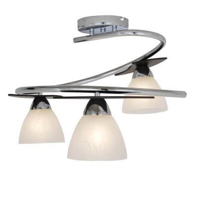 Лстра Lamplandia 3313-3 VarnaПотолочные<br>Потолочна лстра с металлическим основанием цвета хром, с деревнными вставками цвета венге<br><br>Установка на натжной потолок: Да<br>S освещ. до, м2: 12<br>Крепление: Планка<br>Тип лампы: накаливани / нергосбережени / LED-светодиодна<br>Тип цокол: E27<br>Количество ламп: 3<br>Ширина, мм: 550<br>MAX мощность ламп, Вт: 40<br>Длина, мм: 550<br>Высота, мм: 380<br>Цвет арматуры: серый