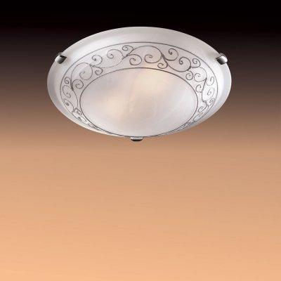 Светильник Сонекс 332 хром Barocco CromoКруглые<br>Настенно потолочный светильник Сонекс (Sonex) 332 подходит как для установки в вертикальном положении - на стены, так и для установки в горизонтальном - на потолок. Для установки настенно потолочных светильников на натяжной потолок необходимо использовать светодиодные лампы LED, которые экономнее ламп Ильича (накаливания) в 10 раз, выделяют мало тепла и не дадут расплавиться Вашему потолку.<br><br>S освещ. до, м2: 20<br>Тип лампы: накаливания / энергосбережения / LED-светодиодная<br>Тип цоколя: E27<br>Количество ламп: 3<br>MAX мощность ламп, Вт: 100<br>Диаметр, мм мм: 500<br>Цвет арматуры: серебристый
