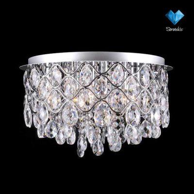 Люстра Евросвет 3322/6L хромКаскадные<br><br><br>Установка на натяжной потолок: Да<br>S освещ. до, м2: 18<br>Крепление: Планка<br>Тип товара: люстра<br>Тип лампы: накаливания / энергосбережения / LED-светодиодная<br>Тип цоколя: E14<br>Количество ламп: 6<br>MAX мощность ламп, Вт: 60<br>Диаметр, мм мм: 450<br>Высота, мм: 340<br>Цвет арматуры: серебристый