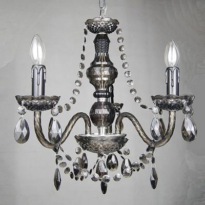 Люстра Lamplandia 3324 AmaliaПодвесные<br>Стильная люстра с металлическим основанием цвета хром .Декоративные элементы выполнены из акрила дымчатого цвета , имеют хорошую  прочность .<br><br>Установка на натяжной потолок: Да<br>S освещ. до, м2: 8<br>Крепление: Крюк<br>Тип лампы: накаливания / энергосбережения / LED-светодиодная<br>Тип цоколя: E14<br>Количество ламп: 3<br>MAX мощность ламп, Вт: 40<br>Диаметр, мм мм: 490<br>Высота, мм: 500<br>Цвет арматуры: серый