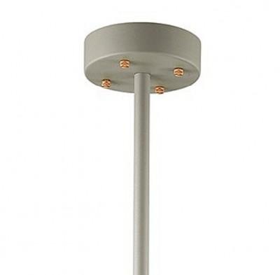 Люстра Odeon light 3330/5 LURDIлюстры лофт потолочные<br>Серия Lurdi выполнена в стиле техно. Конструкция светильника состоит из телескопического штатива и прикрепленных к нему стержней, на которых расположены металлические плафоны. Широкие открытые плафоны легко регулируются и дают яркий свет. Арматура светильника выполнена из металла, имеет матовую поверхность и окрашена в холодные оттенки: белый, черный, серый. Металлические стержни имеют контрастную глянцевую поверхность и окрашены в медный цвет. Данная серия отлично впишется в модные современные интерьеры в стиле лофт, техно или минимализм