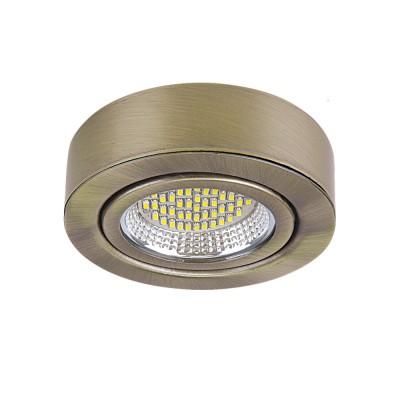 Lightstar MOBILED 3331 СветильникДекоративные<br>Настенно-потолочные светильники – это универсальные осветительные варианты, которые подходят для вертикального и горизонтального монтажа. В интернет-магазине «Светодом» Вы можете приобрести подобные модели по выгодной стоимости. В нашем каталоге представлены как бюджетные варианты, так и эксклюзивные изделия от производителей, которые уже давно заслужили доверие дизайнеров и простых покупателей. <br>Настенно-потолочный светильник Lightstar 3331 станет прекрасным дополнением к основному освещению. Благодаря качественному исполнению и применению современных технологий при производстве эта модель будет радовать Вас своим привлекательным внешним видом долгое время. <br>Приобрести настенно-потолочный светильник Lightstar 3331 можно, находясь в любой точке России.<br><br>S освещ. до, м2: 1<br>Цветовая t, К: 4200<br>Тип лампы: LED<br>Тип цоколя: led<br>Количество ламп: 1<br>MAX мощность ламп, Вт: 3,5<br>Диаметр, мм мм: 70<br>Высота, мм: 25<br>Оттенок (цвет): БРОНЗА<br>Цвет арматуры: бронзовый