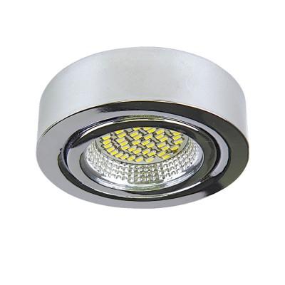 Lightstar MOBILED 3334 СветильникКруглые<br>Настенно-потолочные светильники – это универсальные осветительные варианты, которые подходят для вертикального и горизонтального монтажа. В интернет-магазине «Светодом» Вы можете приобрести подобные модели по выгодной стоимости. В нашем каталоге представлены как бюджетные варианты, так и эксклюзивные изделия от производителей, которые уже давно заслужили доверие дизайнеров и простых покупателей. <br>Настенно-потолочный светильник Lightstar 3334 станет прекрасным дополнением к основному освещению. Благодаря качественному исполнению и применению современных технологий при производстве эта модель будет радовать Вас своим привлекательным внешним видом долгое время. <br>Приобрести настенно-потолочный светильник Lightstar 3334 можно, находясь в любой точке России.<br><br>S освещ. до, м2: 1<br>Цветовая t, К: 4200<br>Тип лампы: LED<br>Тип цоколя: Led<br>MAX мощность ламп, Вт: 3,5<br>Диаметр, мм мм: 70<br>Размеры: H25 D72<br>Высота, мм: 25<br>Оттенок (цвет): ХРОМ<br>Цвет арматуры: серебристый