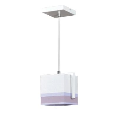 Emibig LILIA 334/1 потолочный светильникодиночные подвесные светильники<br><br><br>S освещ. до, м2: 3<br>Крепление: Потолочное<br>Тип цоколя: E27<br>Количество ламп: 1<br>Ширина, мм: 140<br>Длина, мм: 140<br>Высота, мм: 1000<br>MAX мощность ламп, Вт: 60