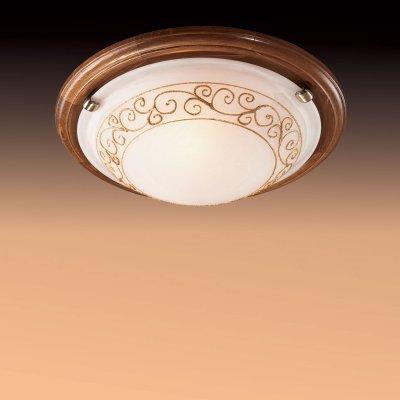 Светильник Сонекс 334 бронза Barocco WoodКруглые<br>Настенно потолочный светильник Сонекс (Sonex) 334 подходит как для установки в вертикальном положении - на стены, так и для установки в горизонтальном - на потолок. Для установки настенно потолочных светильников на натяжной потолок необходимо использовать светодиодные лампы LED, которые экономнее ламп Ильича (накаливания) в 10 раз, выделяют мало тепла и не дадут расплавиться Вашему потолку.<br><br>S освещ. до, м2: 20<br>Тип лампы: накаливания / энергосбережения / LED-светодиодная<br>Тип цоколя: E27<br>Количество ламп: 3<br>MAX мощность ламп, Вт: 100<br>Диаметр, мм мм: 560<br>Цвет арматуры: бронзовый