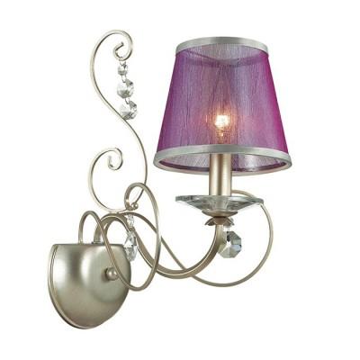 Odeon light ZIBILLE 3396/1W Светильник настенный браКлассические<br><br><br>Тип лампы: Накаливания / энергосбережения / светодиодная<br>Тип цоколя: E14<br>Количество ламп: 1<br>Ширина, мм: 310<br>MAX мощность ламп, Вт: 40<br>Длина, мм: 264<br>Высота, мм: 354