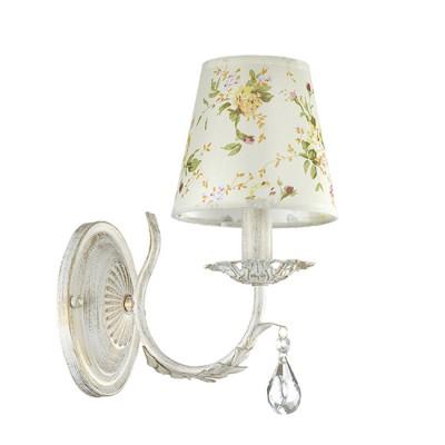 Светильник Lumion 3402/1WКлассические<br><br><br>Крепление: Настенное<br>Тип лампы: Накаливания / энергосбережения / светодиодная<br>Тип цоколя: E14<br>Количество ламп: 1<br>Ширина, мм: 153<br>MAX мощность ламп, Вт: 40<br>Расстояние от стены, мм: 235<br>Высота, мм: 280