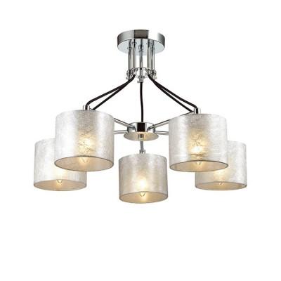 Светильник Lumion 3412/5Потолочные<br><br><br>S освещ. до, м2: 10<br>Крепление: Потолочное<br>Тип лампы: Накаливания / энергосбережения / светодиодная<br>Тип цоколя: E14<br>Количество ламп: 5<br>MAX мощность ламп, Вт: 40<br>Диаметр, мм мм: 630<br>Высота, мм: 450