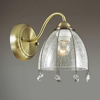 Светильник Lumion 3414/1WКлассические<br><br><br>Крепление: Настенное<br>Тип лампы: Накаливания / энергосбережения / светодиодная<br>Тип цоколя: E14<br>Количество ламп: 1<br>Ширина, мм: 140<br>MAX мощность ламп, Вт: 40<br>Расстояние от стены, мм: 230<br>Высота, мм: 210