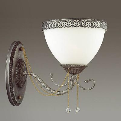 Светильник Lumion 3428/1WКлассические<br><br><br>Крепление: Настенное<br>Тип лампы: Накаливания / энергосбережения / светодиодная<br>Тип цоколя: E14<br>Количество ламп: 1<br>Ширина, мм: 160<br>MAX мощность ламп, Вт: 40<br>Расстояние от стены, мм: 265<br>Высота, мм: 215