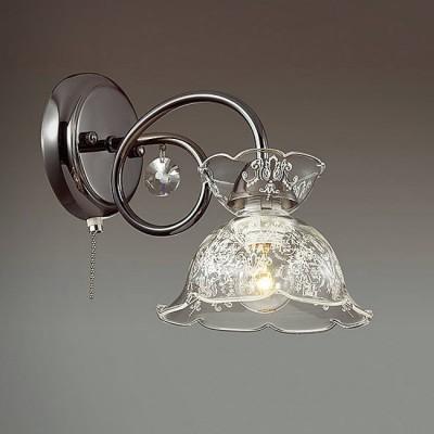 Светильник Lumion 3447/1WКлассика<br><br><br>Крепление: Настенное<br>Тип лампы: Накаливания / энергосбережения / светодиодная<br>Тип цоколя: E14<br>Количество ламп: 1<br>Ширина, мм: 160<br>MAX мощность ламп, Вт: 60<br>Расстояние от стены, мм: 260<br>Высота, мм: 220