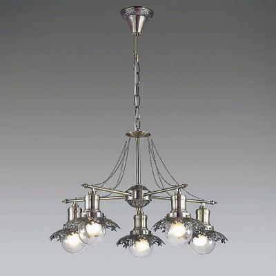 Светильник Lumion 3468/5Подвесные<br><br><br>S освещ. до, м2: 10<br>Крепление: Потолочное<br>Тип лампы: Накаливания / энергосбережения / светодиодная<br>Тип цоколя: E14<br>Количество ламп: 5<br>MAX мощность ламп, Вт: 40<br>Диаметр, мм мм: 580