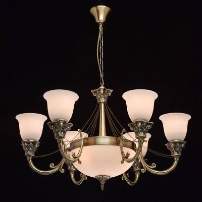 Mw light 347019609 Светильниклюстры подвесные классические<br><br><br>Установка на натяжной потолок: Да<br>S освещ. до, м2: 18<br>Тип лампы: Накаливания / энергосбережения / светодиодная<br>Тип цоколя: E27<br>Количество ламп: 9<br>Диаметр, мм мм: 820<br>Высота, мм: 510 - 970<br>MAX мощность ламп, Вт: 40