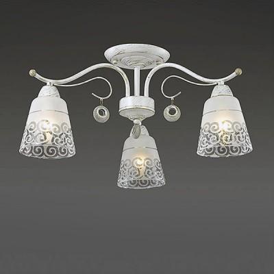 Светильник Lumion 3471/3CПотолочные<br><br><br>S освещ. до, м2: 6<br>Крепление: Потолочное<br>Тип лампы: Накаливания / энергосбережения / светодиодная<br>Тип цоколя: E14<br>Количество ламп: 3<br>MAX мощность ламп, Вт: 40<br>Диаметр, мм мм: 550<br>Высота, мм: 280