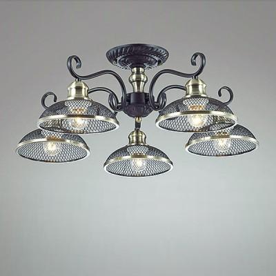 Светильник Lumion 3472/5CПотолочные<br><br><br>S освещ. до, м2: 15<br>Крепление: Потолочное<br>Тип лампы: Накаливани / нергосбережени / светодиодна<br>Тип цокол: E27<br>Количество ламп: 5<br>MAX мощность ламп, Вт: 60<br>Диаметр, мм мм: 620<br>Высота, мм: 235