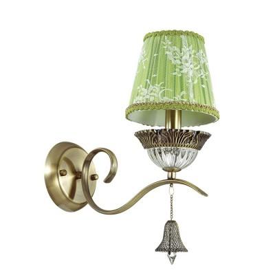 Odeon light KLIMENTA 3474/1W Светильник настенный браКлассические<br><br><br>Тип лампы: Накаливания / энергосбережения / светодиодная<br>Тип цоколя: E14<br>Количество ламп: 1<br>Ширина, мм: 140<br>MAX мощность ламп, Вт: 40<br>Расстояние от стены, мм: 280<br>Высота, мм: 348