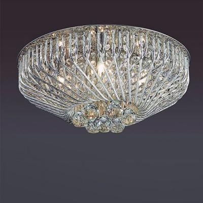 Odeon light ELOI 3478/5C ЛюстраПотолочные<br><br><br>Установка на натяжной потолок: Ограничено<br>S освещ. до, м2: 10<br>Тип лампы: галогенная/LED<br>Тип цоколя: G9<br>Количество ламп: 5<br>MAX мощность ламп, Вт: 40<br>Диаметр, мм мм: 430<br>Высота, мм: 190<br>Цвет арматуры: серебристый хром