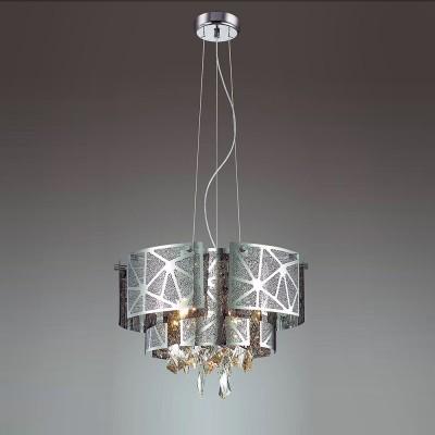 Odeon light HILARY 3479/5 ЛюстраПодвесные<br><br><br>Установка на натяжной потолок: Да<br>S освещ. до, м2: 10<br>Тип лампы: галогенная/LED<br>Тип цоколя: G9<br>Количество ламп: 5<br>MAX мощность ламп, Вт: 40<br>Диаметр, мм мм: 430<br>Высота, мм: 1530<br>Цвет арматуры: серебристый хром