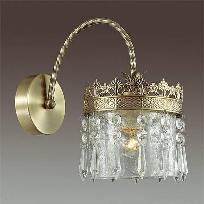 Светильник Lumion 3480/1WКлассические<br><br><br>Крепление: Настенное<br>Тип лампы: Накаливания / энергосбережения / светодиодная<br>Тип цоколя: E14<br>Количество ламп: 1<br>Ширина, мм: 170<br>MAX мощность ламп, Вт: 60<br>Расстояние от стены, мм: 280<br>Высота, мм: 265