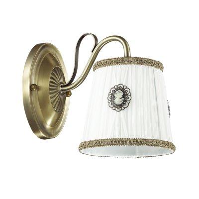 Светильник Lumion 3486/1WОжидается<br>Очень романтичная серия Vapus состоит из арматуры бронзового цвета с золотой патиной. Нежный тканевый абажур светильника украшен миниатюрными цветочками с жемчужным бисером. Такой светильник создаст атмосферу легкости и романтики в интерьере<br><br>Тип цоколя: E14<br>Количество ламп: 1<br>MAX мощность ламп, Вт: 40<br>Оттенок (цвет): бронзовый