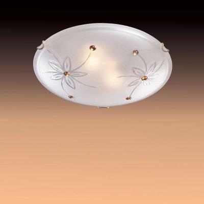 Светильник Сонекс 349 золото FloretКруглые<br>Настенно потолочный светильник Сонекс (Sonex) 349  подходит как для установки в вертикальном положении - на стены, так и для установки в горизонтальном - на потолок. Для установки настенно потолочных светильников на натяжной потолок необходимо использовать светодиодные лампы LED, которые экономнее ламп Ильича (накаливания) в 10 раз, выделяют мало тепла и не дадут расплавиться Вашему потолку.<br><br>S освещ. до, м2: 20<br>Тип лампы: накаливания / энергосбережения / LED-светодиодная<br>Тип цоколя: E27<br>Количество ламп: 3<br>MAX мощность ламп, Вт: 100<br>Диаметр, мм мм: 500<br>Цвет арматуры: золотой