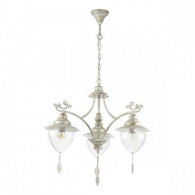 Светильник Lumion 3495/3Ожидается<br>Серия Prana в белом цвете с золотой патиной в сочетании с прозрачными плафонами смотрится изящно и невесомо. Декоративные ажурные подвески, украшающие плафон, гармонично сочетаются с декоративными металлическими элементами на рожках<br><br>Тип цоколя: E27<br>Количество ламп: 3<br>Ширина, мм: 740<br>MAX мощность ламп, Вт: 60<br>Длина цепи/провода, мм: 440<br>Длина, мм: 740<br>Высота, мм: 575<br>Оттенок (цвет): белый / зол.патина