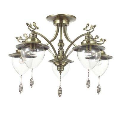 Светильник Lumion 3496/5Ожидается<br>Серия Prana в белом цвете с золотой патиной в сочетании с прозрачными плафонами смотрится изящно и невесомо. Декоративные ажурные подвески, украшающие плафон, гармонично сочетаются с декоративными металлическими элементами на рожках<br><br>Тип цоколя: E27<br>Количество ламп: 5<br>Ширина, мм: 640<br>MAX мощность ламп, Вт: 60<br>Длина цепи/провода, мм: 440<br>Длина, мм: 640<br>Высота, мм: 575<br>Оттенок (цвет): бронза