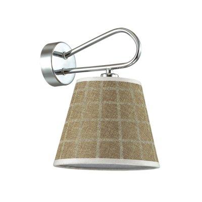 Светильник Lumion 3499/1WОжидается<br>Очаровательная серия Graziana выполнена из арматуры цвета хром и абажуров с теплым оттенком. Такой светильник напоминает букет из распустившихся цветков и подарит атмосферу красоты и уюта<br><br>Тип цоколя: E14<br>Количество ламп: 1<br>Ширина, мм: 180<br>MAX мощность ламп, Вт: 40<br>Длина, мм: 205<br>Оттенок (цвет): серебристный хром