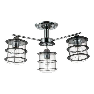 Люстра потолочная Lumion 3504/3C ROTONDUMПотолочные<br>Стильная и современная серия Rotondum отличается оригинальными плафонами, выполненными из прозрачного круглого стекла, обрамленного деревянной решеткой. Такой светильник станет отличным оформлением интерьера в современном или японском стиле<br><br>S освещ. до, м2: 9<br>Тип лампы: Накаливания / энергосбережения / светодиодная<br>Тип цоколя: E27<br>Количество ламп: 3<br>Диаметр, мм мм: 530<br>Высота, мм: 270<br>Оттенок (цвет): серебристный хром<br>MAX мощность ламп, Вт: 60