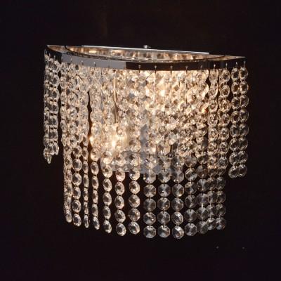 Mw light 351028402 СветильникХрустальные<br><br><br>Тип лампы: Накаливания / энергосбережения / светодиодная<br>Тип цоколя: E14<br>Количество ламп: 2<br>Ширина, мм: 250<br>MAX мощность ламп, Вт: 40<br>Расстояние от стены, мм: 210<br>Высота, мм: 120