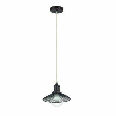 Светильник Lumion 3513/1Ожидается<br>Серия Ludacris идеально подойдет тем, кто хочет стильно украсить интерьерную зону в кухне, над барной стойкой, столовой зоне. Светильник темного цвета кофе, с абажуром из металлической сетки и стеклянным плафоном подойдут в любой интерьер в стиле модерн, лофт или техно, и создадут уютную, приватную атмосферу<br><br>Тип цоколя: E27<br>Количество ламп: 1<br>Ширина, мм: 200<br>MAX мощность ламп, Вт: 60<br>Длина цепи/провода, мм: 940<br>Длина, мм: 200<br>Оттенок (цвет): кофейный
